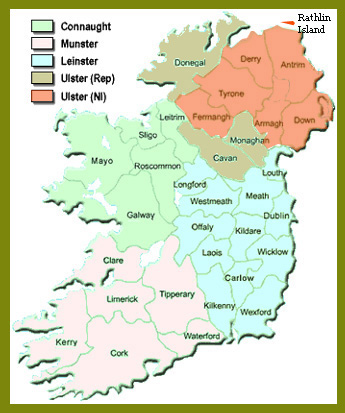 Scots Irish and Irish Lines and the Plantation of Ulster