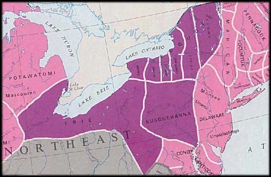 Iroquois Confederacy Map it  soon became adept in